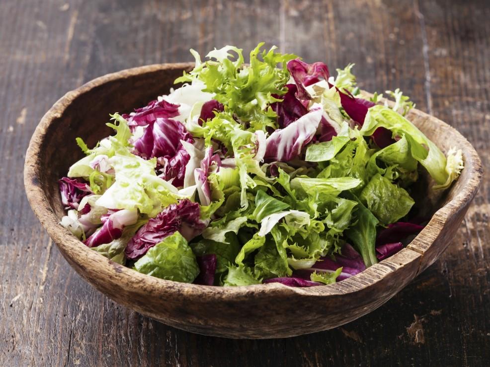 Un'insalata, perfetto antistress