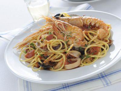 spaghetti allo scoglio ricetta