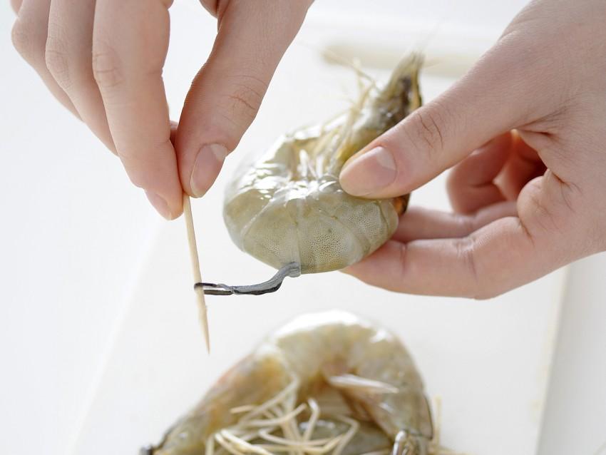 spaghetti allo scoglio Sale&Pepe preparazione