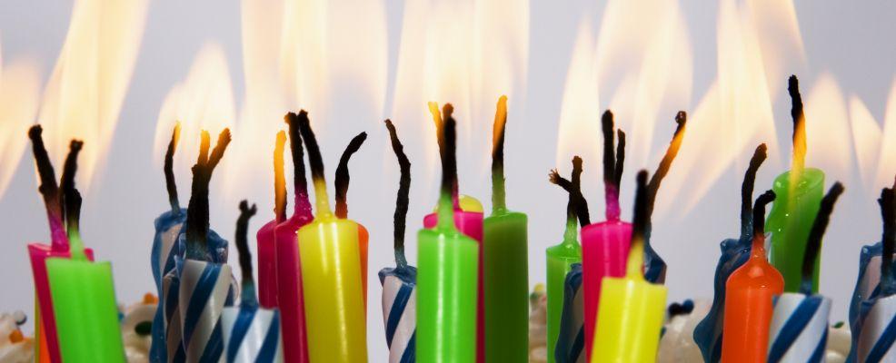 Burning Birthday Candles