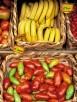 Italy, Tuscany, market stall, olive tomatoes