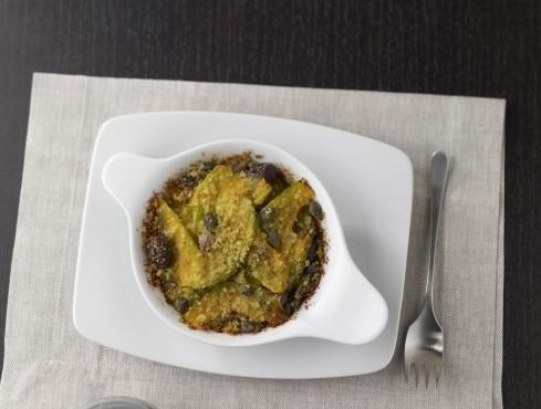 Parmigiana di zucca gialla