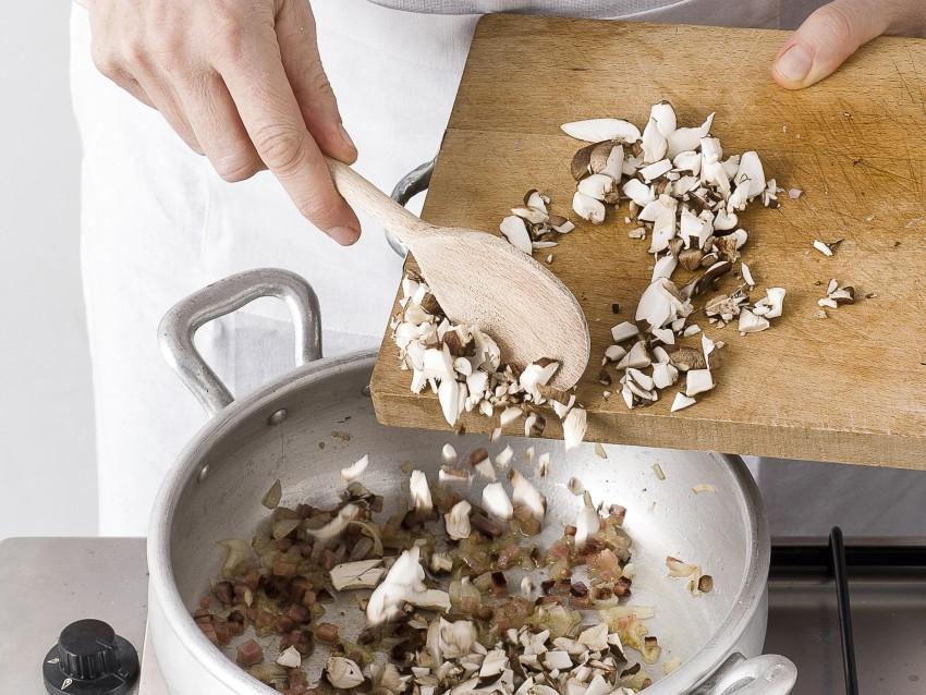 Risotto all'astice e funghi porcini