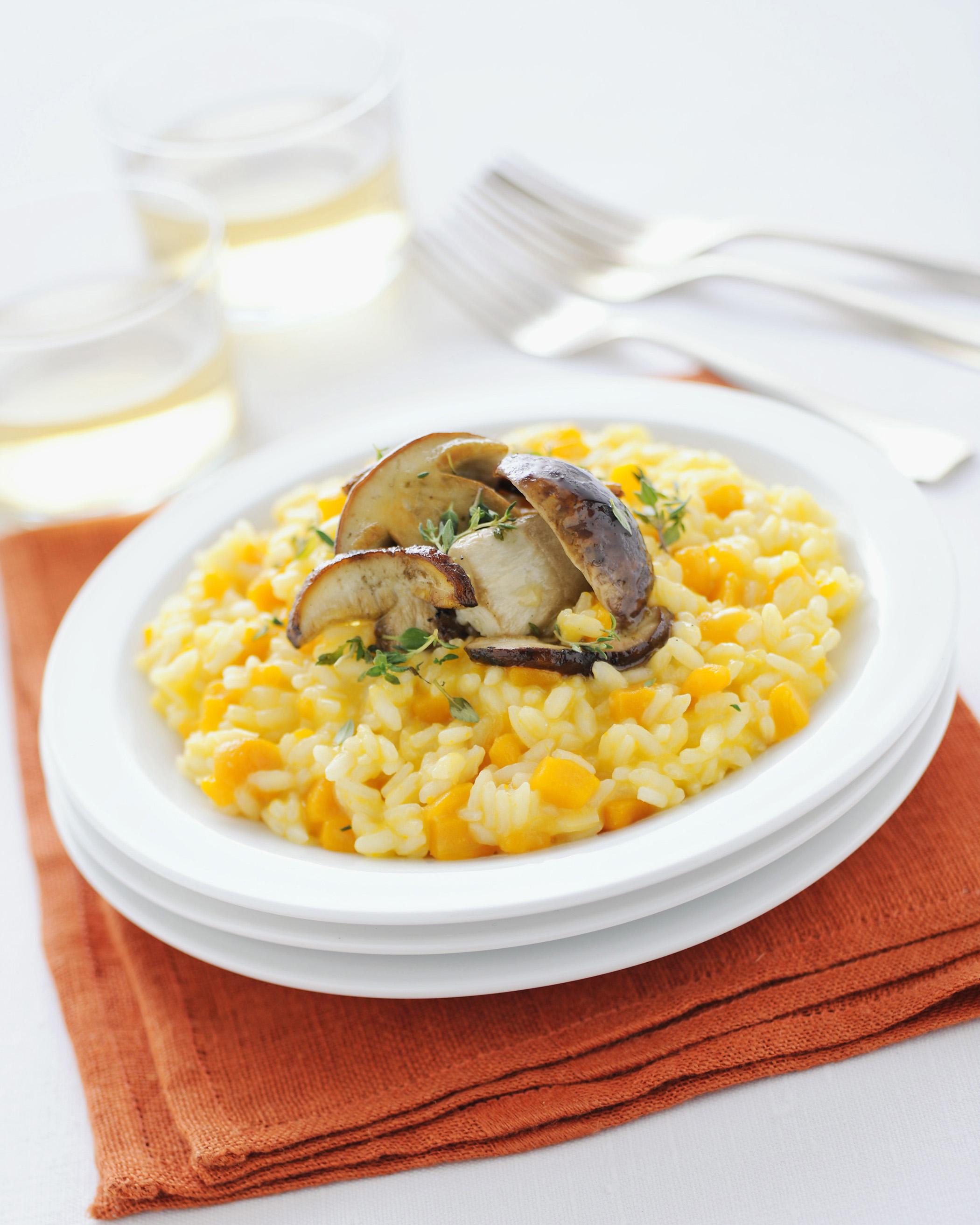 Risotto con zucca e porcini sale pepe for Risotto ricette
