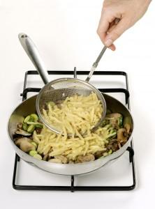 rofie con funghi e zucchine