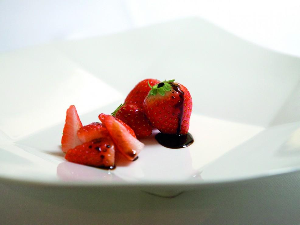 aceto balsamico fragole
