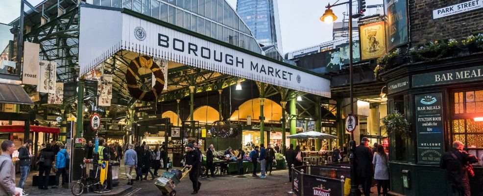 Borough Market London Bridge London England