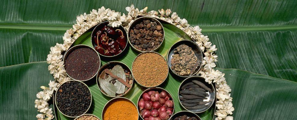 Traditional Thali Tray