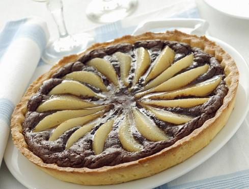crostata di pere e cioccolato Sale&Pepe ricetta