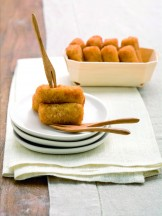Porzione di crocchette di patate