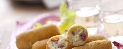 Crocchette di patate e salsiccia piccante