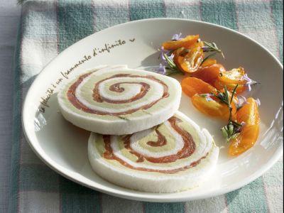 Rotolini avocado e salmone con kumquat canditi