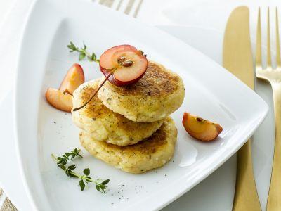 Schiacciatine di patate e mele