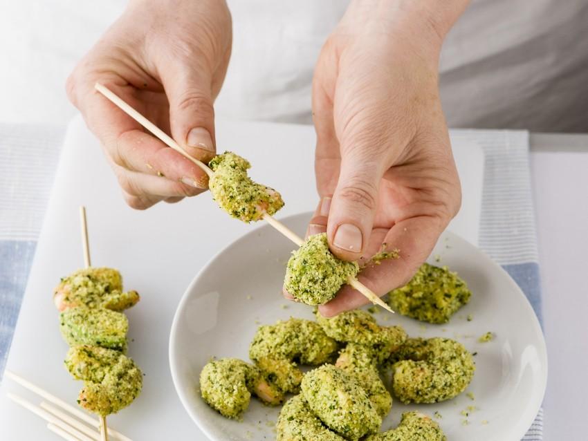 Spiedini di gamberi e avocado ricetta 2