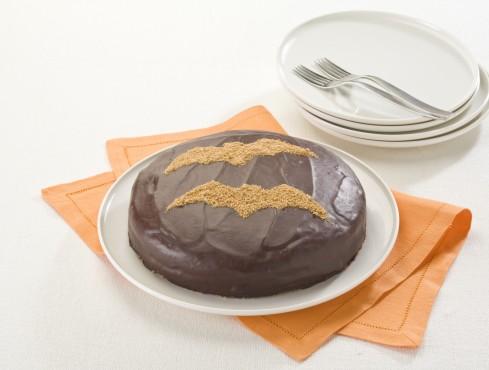 Piatto torta da brivido al cioccolato