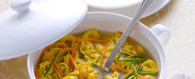 tortellini vegani in brodo ricetta