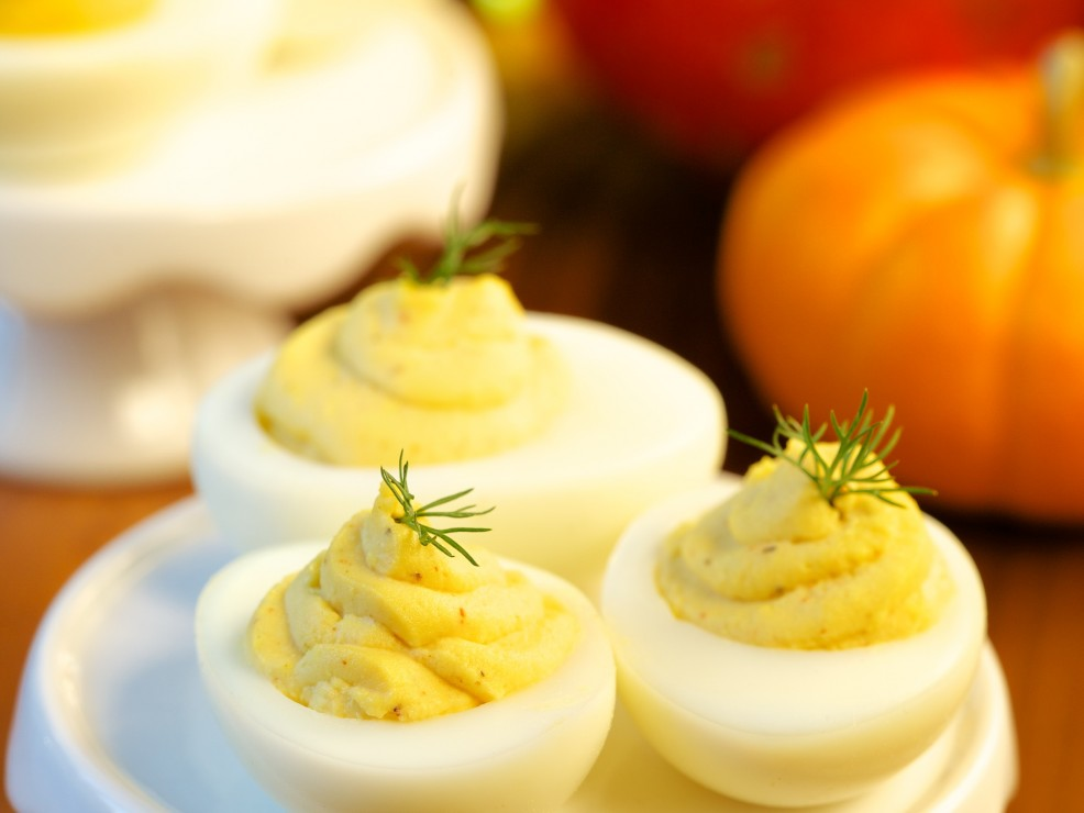 Deviled Eggs -Chef Bjorn DelaCruz