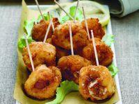 carrubbelle - involtini fritti di formaggio e acciughe - Sicilia