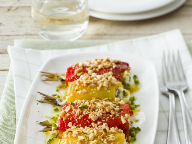 involtini alle sarde con frutta secca