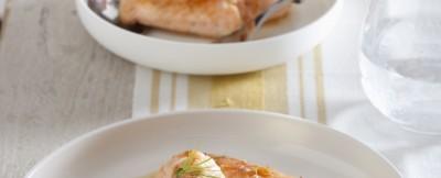 involtini di salmone fresco