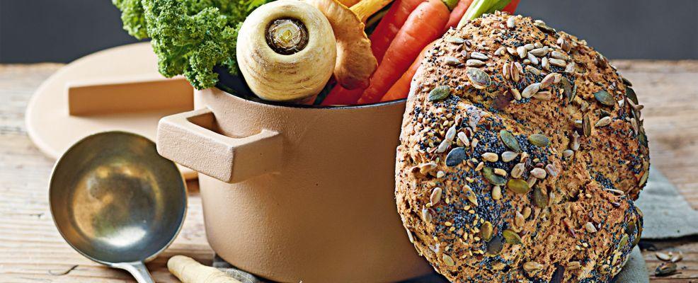 Pagnotte di farro ai semi di finocchio Sale&Pepe ricetta