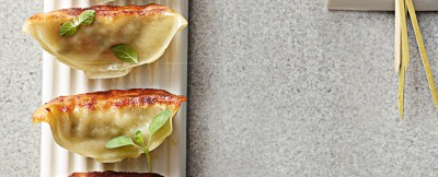 Ravioli gyoza di fagioli azuki ricetta