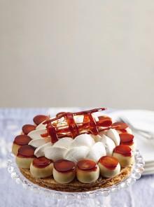 Torta Saint Honoré vegana