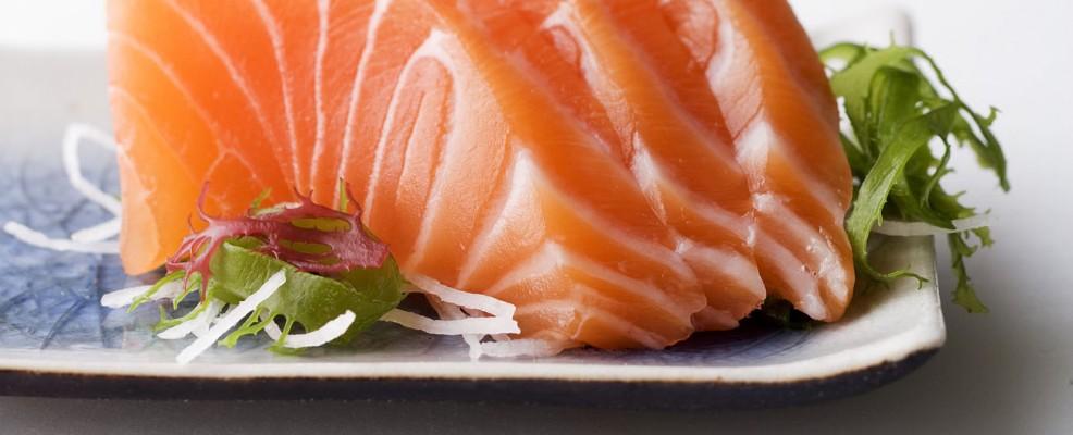 sashimi di salmone