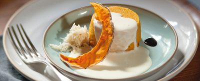 sformatini di zucca con crema di formaggio