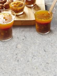 Shot di zuppa al tamarindo ricetta