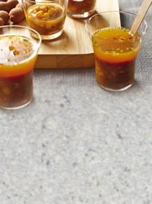Shot di zuppa al tamarindo