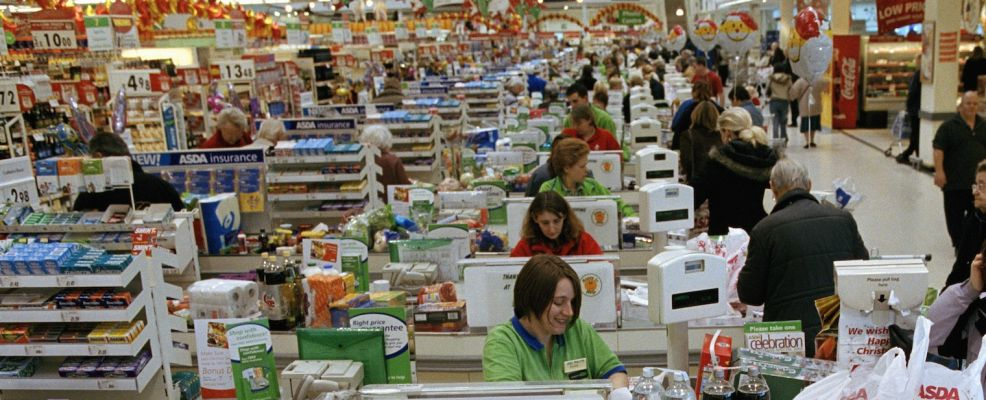 ASDA Store Clerks at Cash Registers