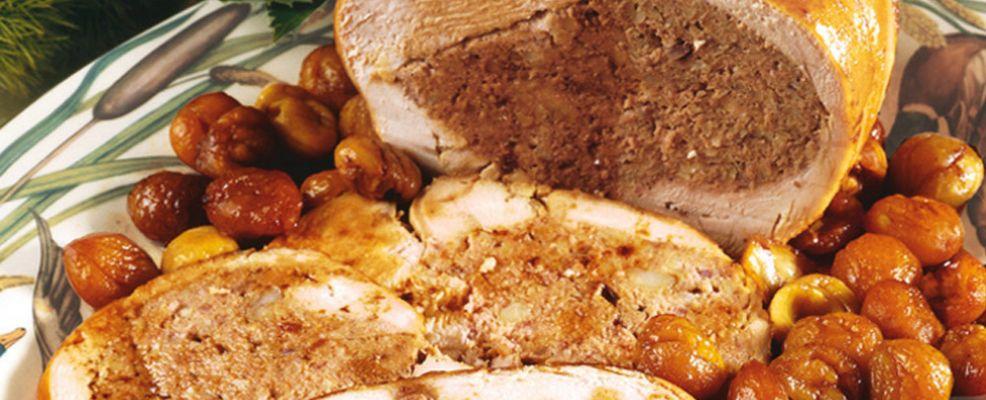 tacchino ripieno con castagne Sale&Pepe ricetta