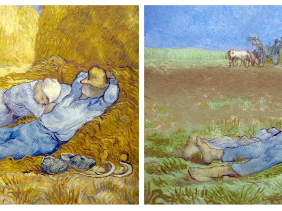 Van Gogh (Credits Gluten Free Museum)