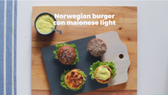 Norwegian burger