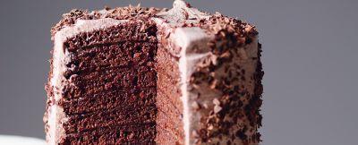Torta vegana di Pancake al cioccolato