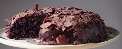 Torta vegana di cioccolato