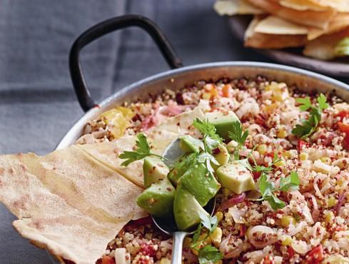 casseruola di quinoa e verdure alla messicana Sale&Pepe ricetta