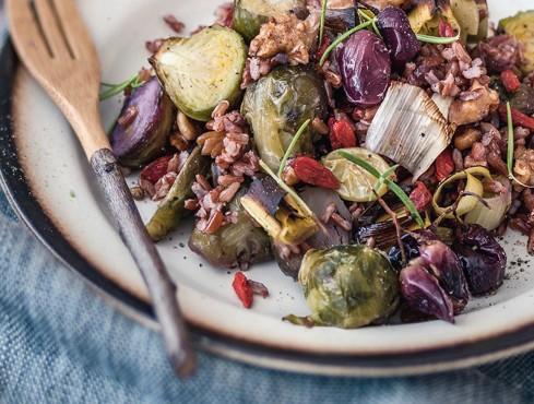 insalata di riso invernale Sale&Pepe ricetta