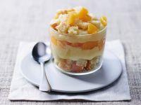 torta Mimosa vegana al bicchiere Sale&Pepe ricetta
