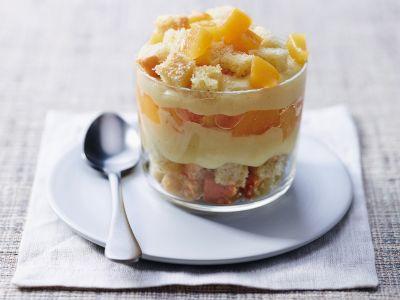 torta Mimosa vegana al bicchiere ricetta