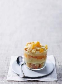 Torta Mimosa vegana al bicchiere