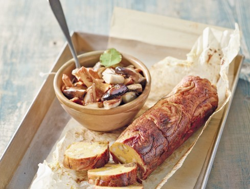 polpettone vegetariano con zucca e funghi Sale&Pepe ricetta