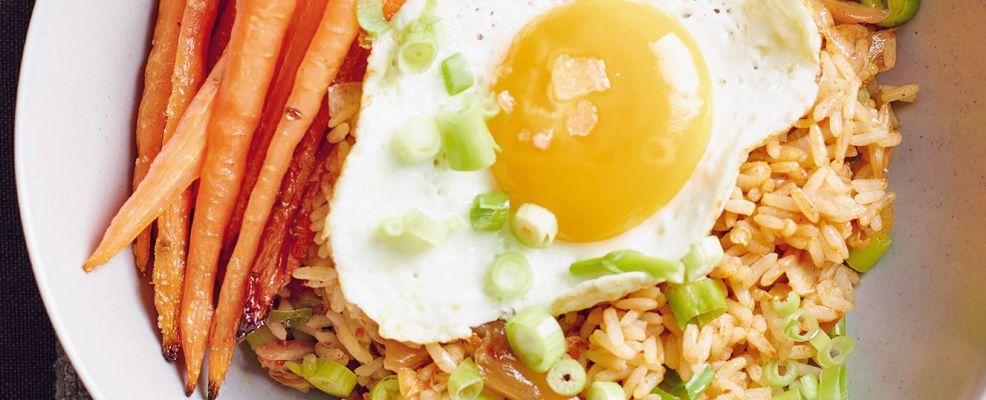 riso saltato al kimchi Sale&Pepe ricetta