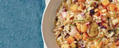 risotto con radicchio rosso e rosmarino ricetta