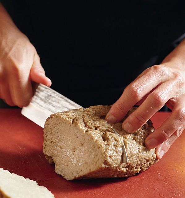 seitan in crosta di sesamo con zucca al forno e porro fritto4