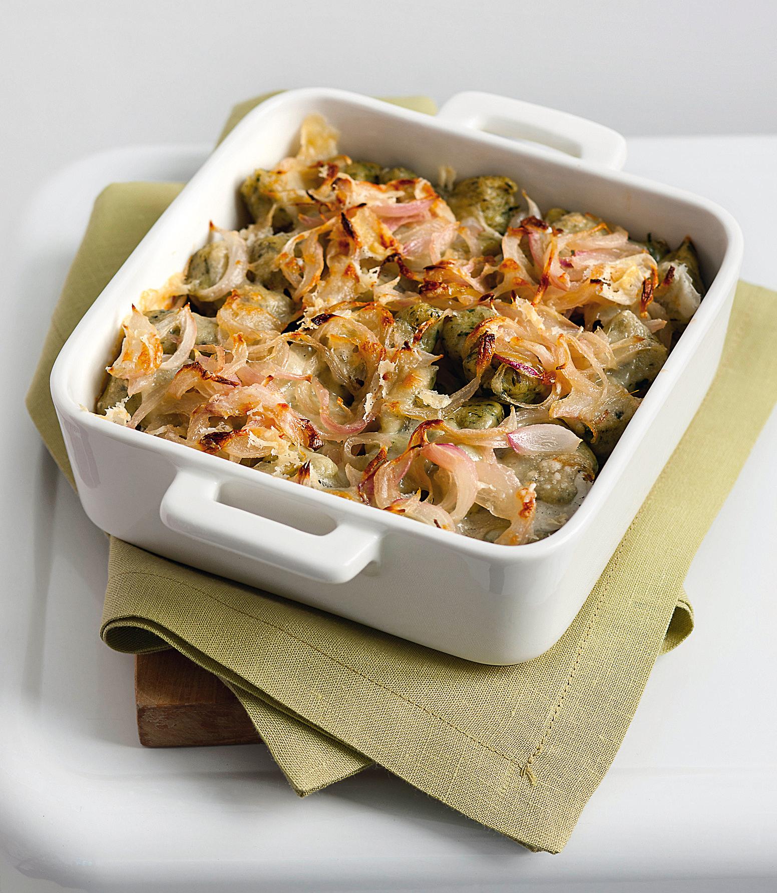 Gnocchetti all 39 ortica gratinati sale pepe for Cucinare ortica