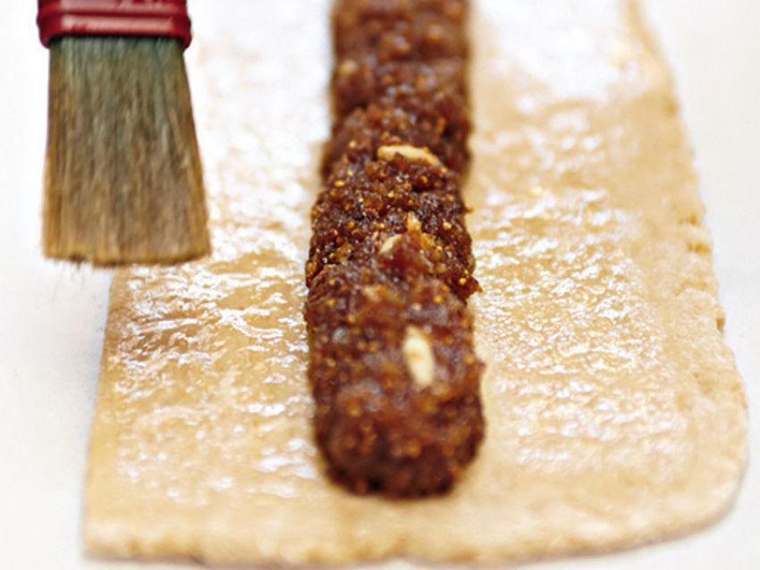 biscotti con i fichi Sale&Pepe preparazione