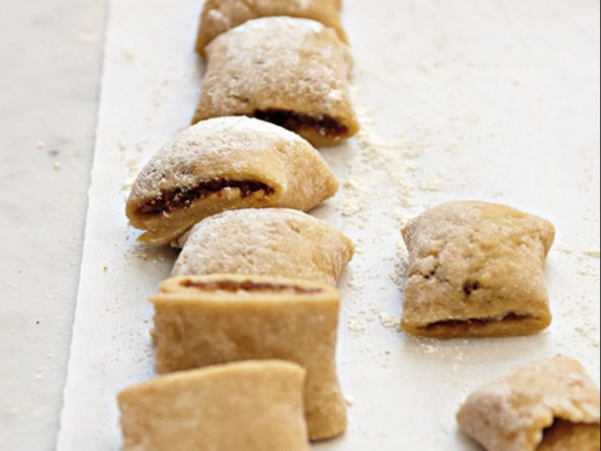 preparazione biscotti con i fichi Sale&Pepe