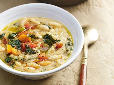 bordatino, polenta toscana vegetariana